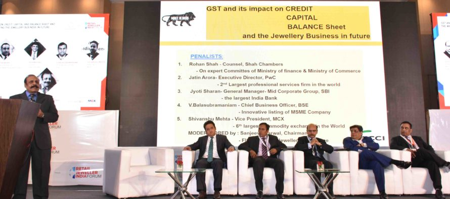 GST and its Impact on credit, capital and balance sheet and the way of conducting the jewellery business in future