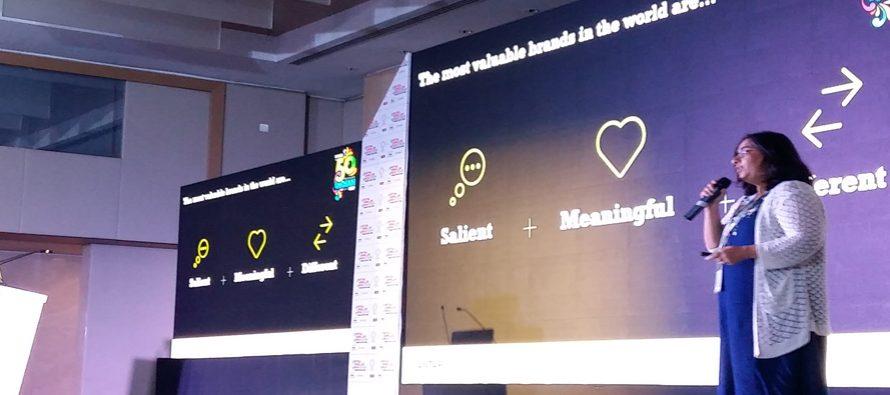 Brands should build emotional meaningfulness