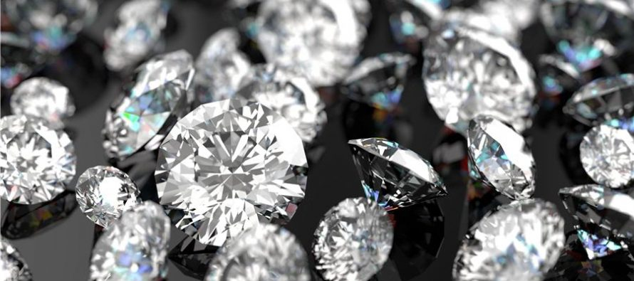 Russia's Alrosa says diamonds sales at $559.5 million in March