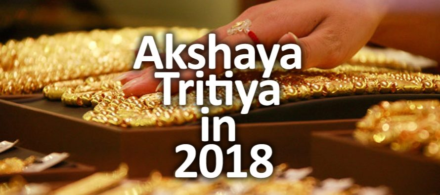 Akshaya Tritiya in 2018: Promises Prosperity for Jewellers