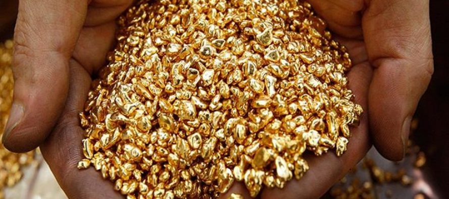 How much gold can be mined in India?