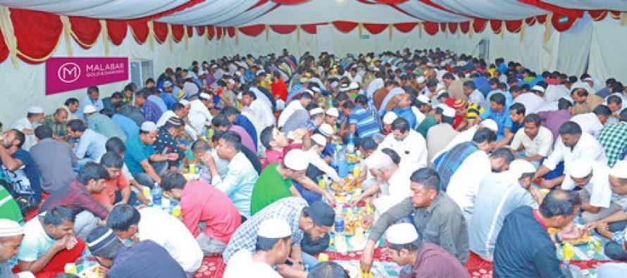 Malabar Gold & Diamonds strengthens its CSR activities this Ramadan