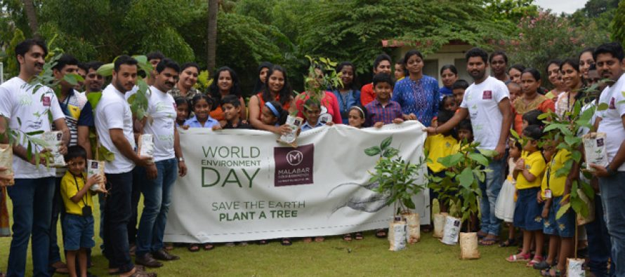 Malabar Group distributes saplings on World Environment Day
