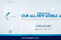Kiran Gems Introduces its ALL-NEW MOBILE APP!