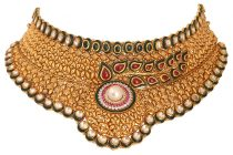 Tanya Rastogi brings the drama back with statement range of gold chokers for Lala Jugal Kishore Jewellers