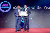 Kiran Gems wins the prestigious international JNA Award 2018 for eSUPPLIER of the Year – India