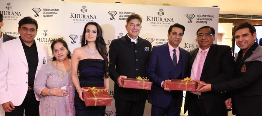 Khurana Jewellery House, Punjab's first 100% IGI Certified store celebrates it's twin-win at Retail Jewellery India Awards 2018