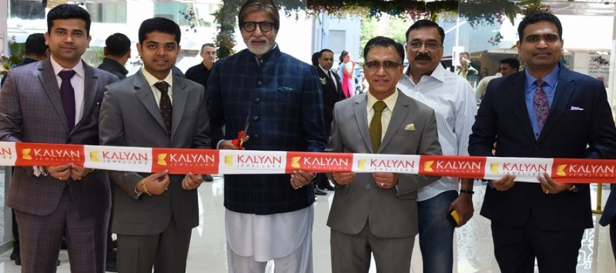Festivities mark launch of Kalyan Jewellers flagship showroom in Andheri, Mumbai