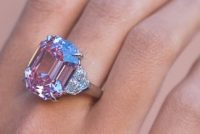 Argyle Pink Legacy diamond breaks world auction record for pink price per carat – selling for 50.3m Swiss francs at Christie's