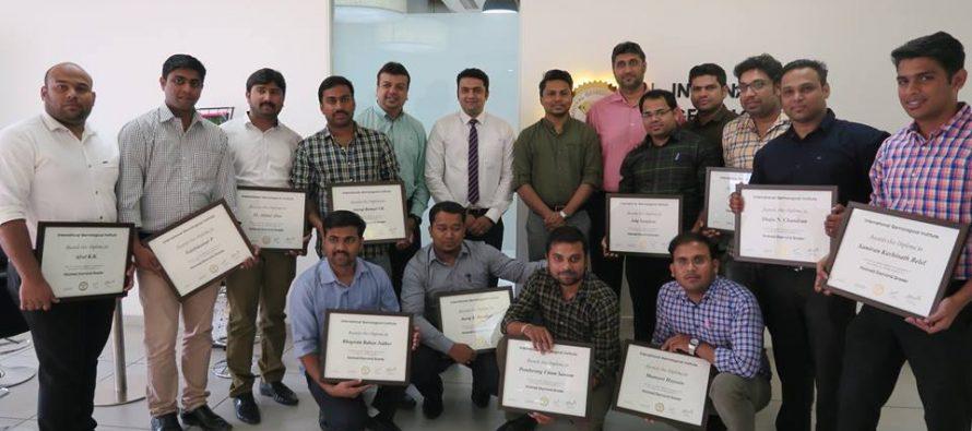 IGI School of Gemology conducts an extensive training program for Malabar Gold & Diamonds
