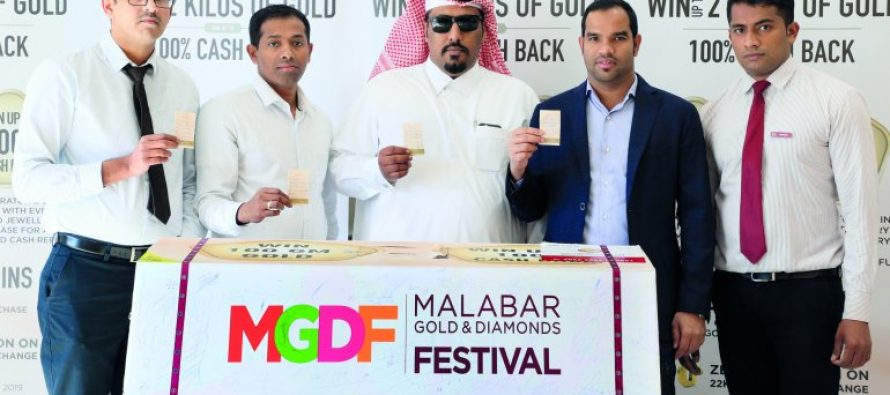 Malabar Gold & Diamonds picks raffle draw winners