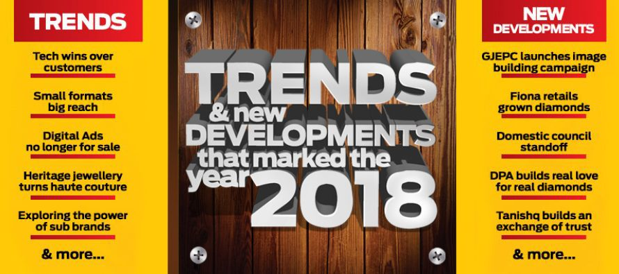 Trends & New Developments that marked the year 2018