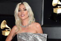 Lady Gaga Wears Platinum Jewellery to 61st Grammy Awards