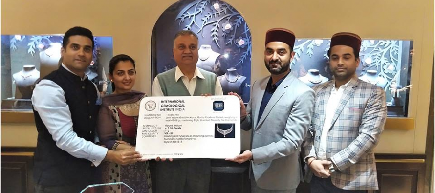 Verma Jewellers Become Himachal's First 100% IGI Certified Store
