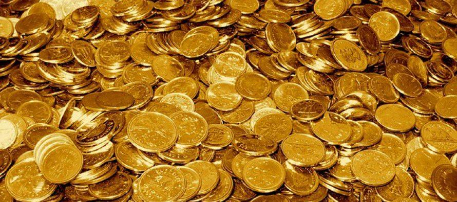 Gold hits 1-week high on simmering US-China trade spat