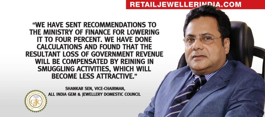 Gem and jewellery industry seeks lower customs duty on gold
