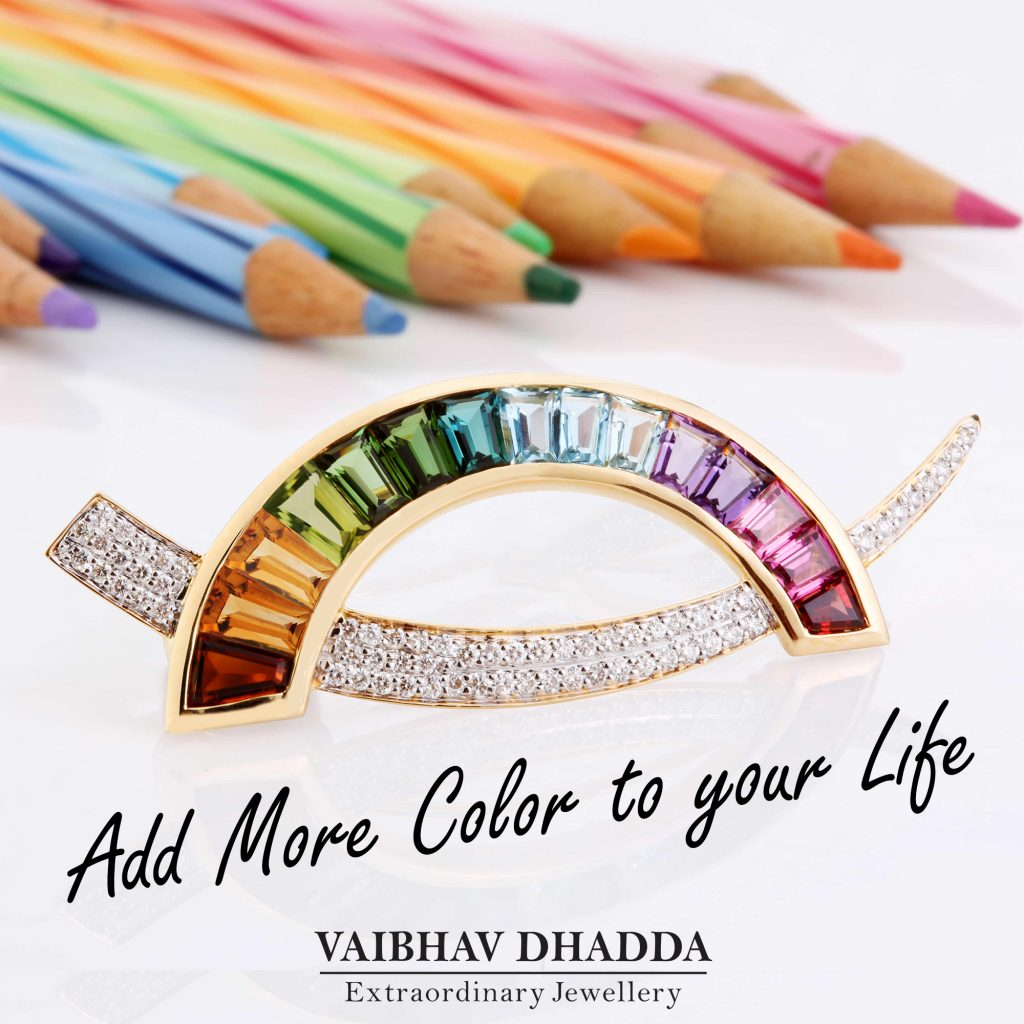Multicolor Pendant Brooch_Add Color to you life