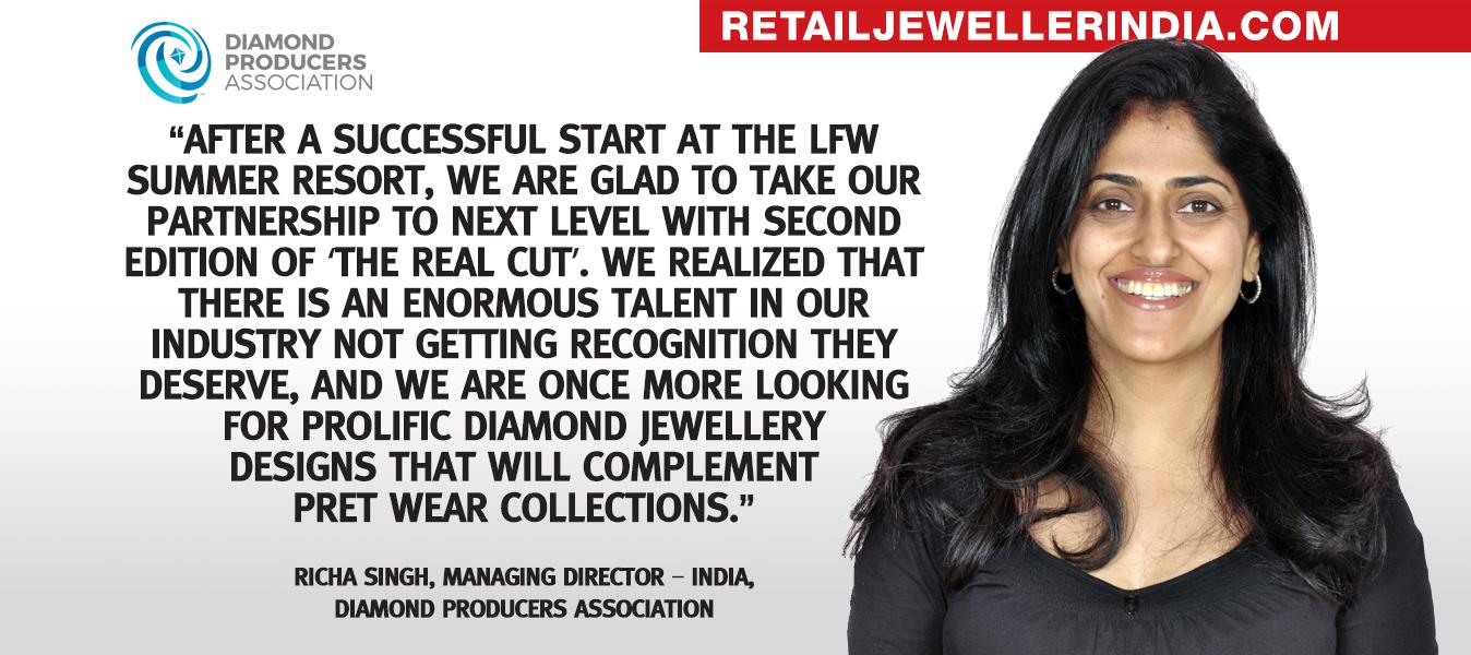 Quote - Richa Singh, Managing Director – India, Diamond Producers Association
