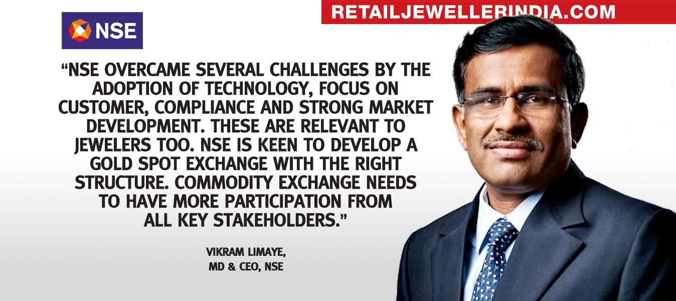 Vikram Limaye, MD & CEO, NSE