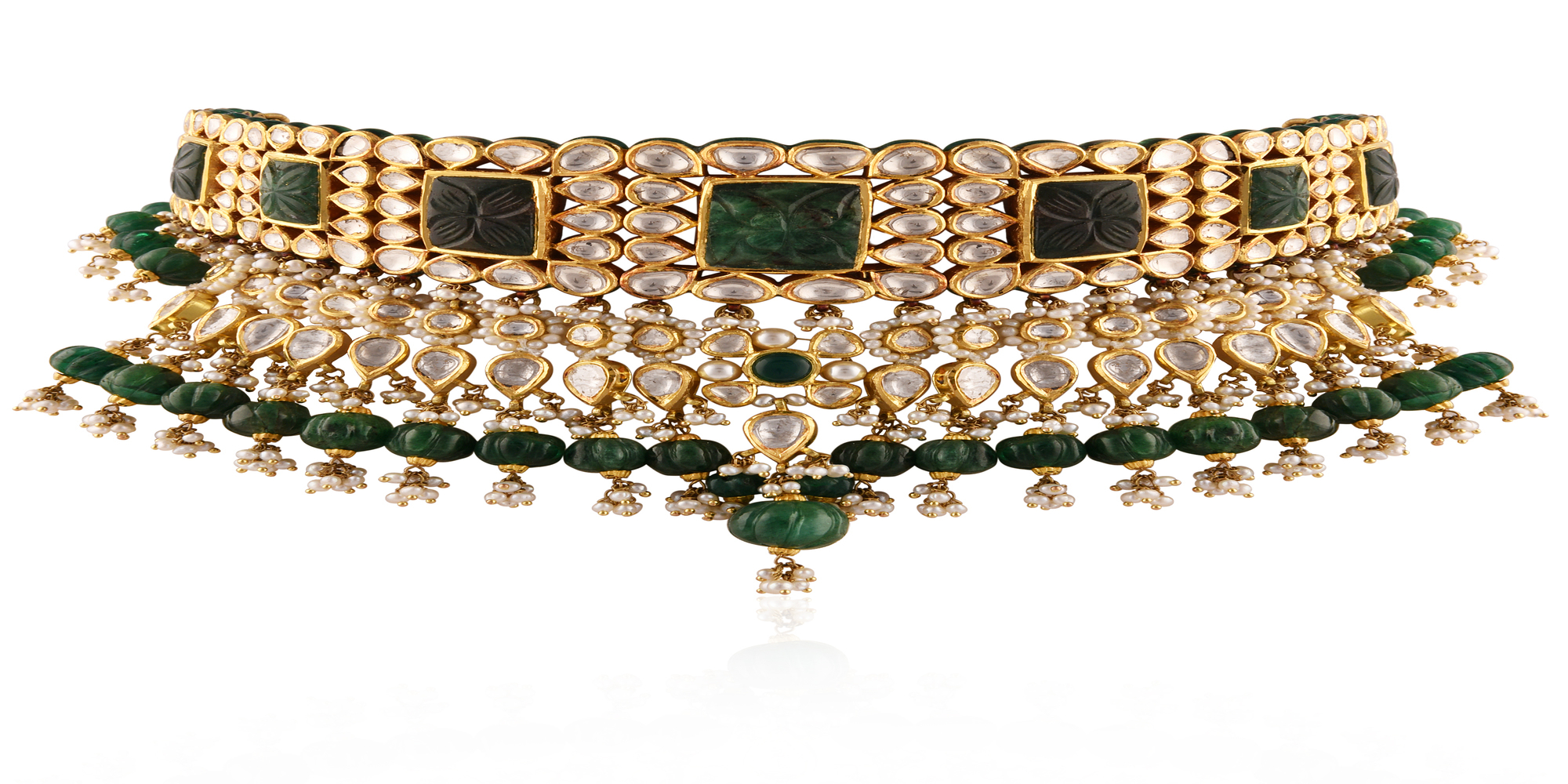 Choker Necklace by RK Jewellers South Extension