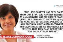 Platinum demand up by 29% in Apr-June qtr