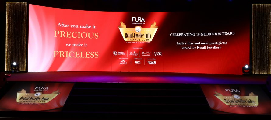 The 15th Annual Fura Retail Jeweller India Awards 2019 Applauds the Finest Jewellery Makers In India