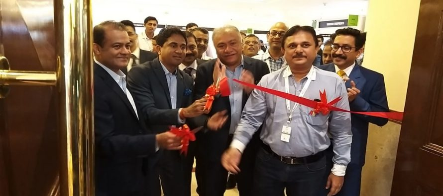 GJEPC Vice Chairman Mr. Colin Shah inaugurates machinery section of IIJS 2019