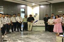 An Industrial Visit organized by International Institute of Gemology in Surat