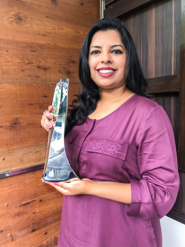 Preeta Agarwal wins awarded 'Jewellery Blogger of the Year 2019' title