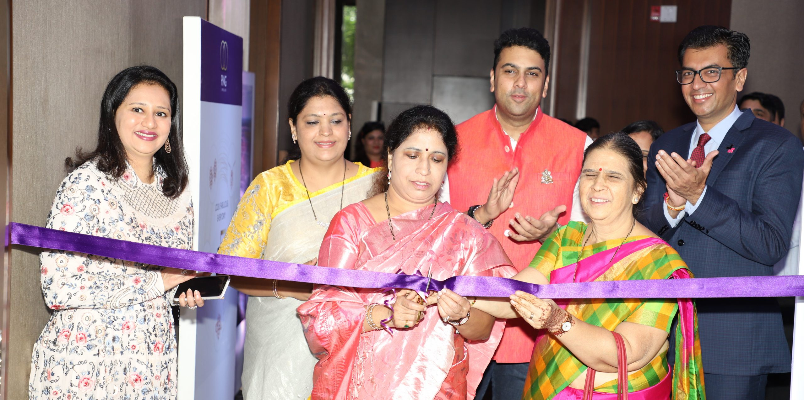 The inauguration of PNG & Forevermark exhibition in Pune