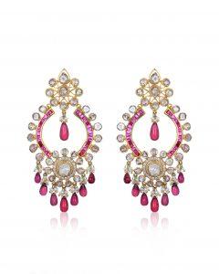 Diamond Polki Earrings byRajesh Tulsiani Fine Jewellery