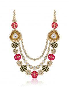 Layer Polki Necklace by Rajesh Tulsiani Fine Jewellery