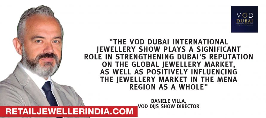 VOD Dubai International Jewellery Show 2019  is back for its third edition