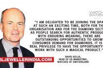 David Kellie to succeed Jean-Marc Lieberherr as CEO of the Diamond Producers Association