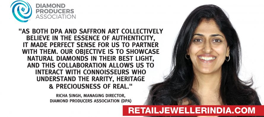 "DPA continues its focus on ""Real"", partners with Saffron Art for 'Mapping the legacy of Indian Jewels'"