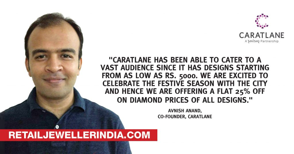 Quote- Avnish Anand, Co-Founder, Caratlane