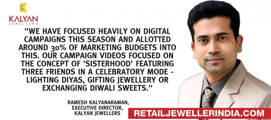 Kalyan Jewellers lights up digital media with Diwali  campaign