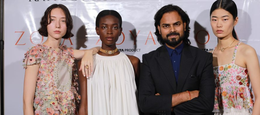 Zoya takes centre stage with Rahul Mishra at Paris Fashion Week