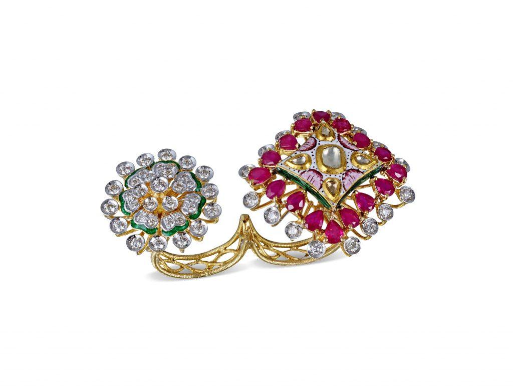 Two Fine Polki Ring byRajesh Tulsiani Fine Jewellery