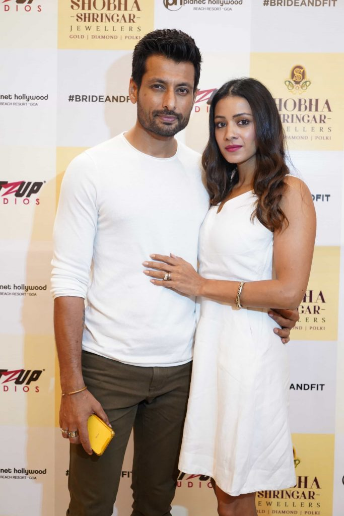 Indraneil Sengupta and Barkha Sengupta seen at Fitzup Bride&Fit Launch at Shobha Shringar Jewellers
