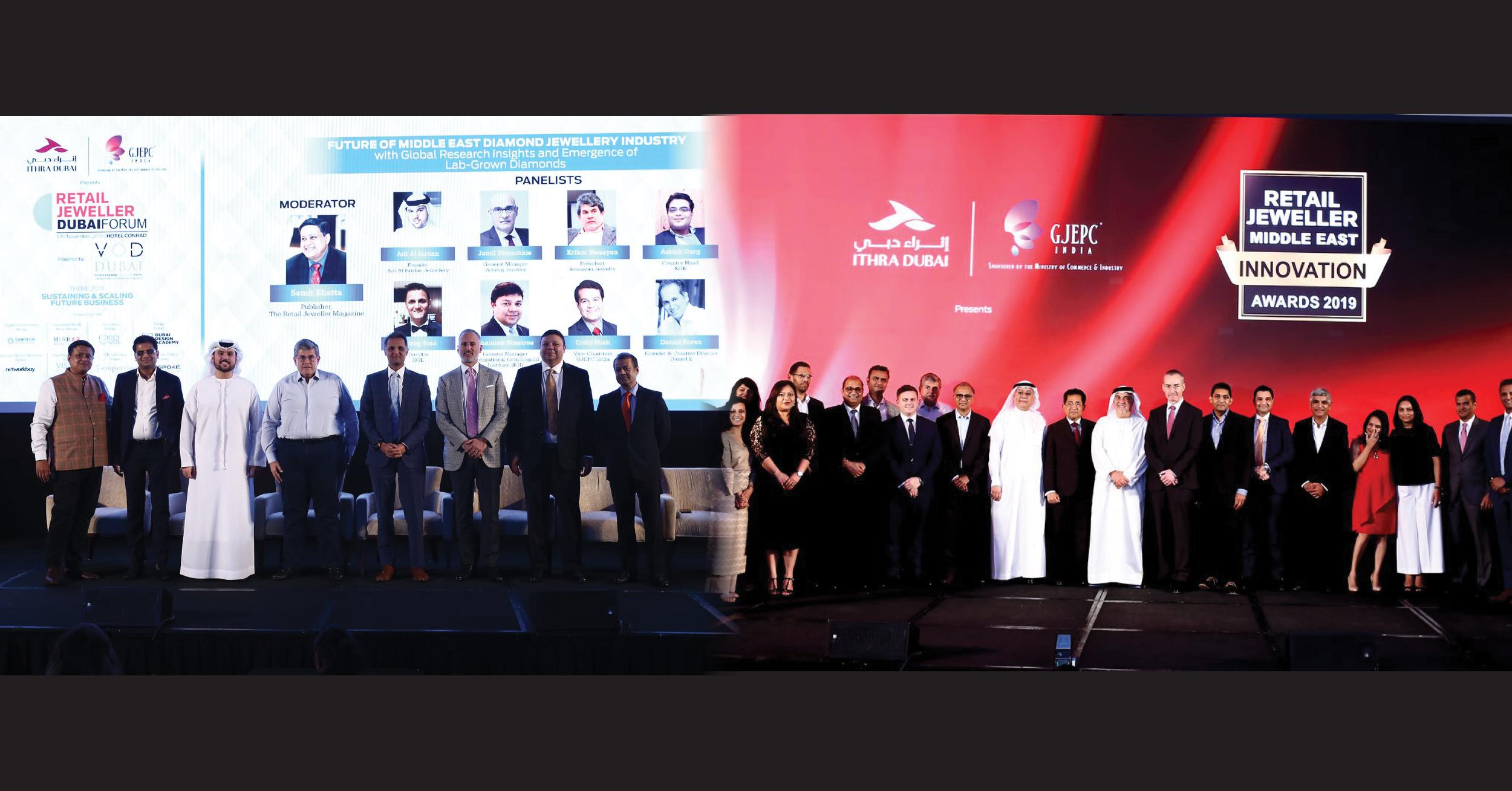Retail Jeweller Dubai Forum and Awards 2019