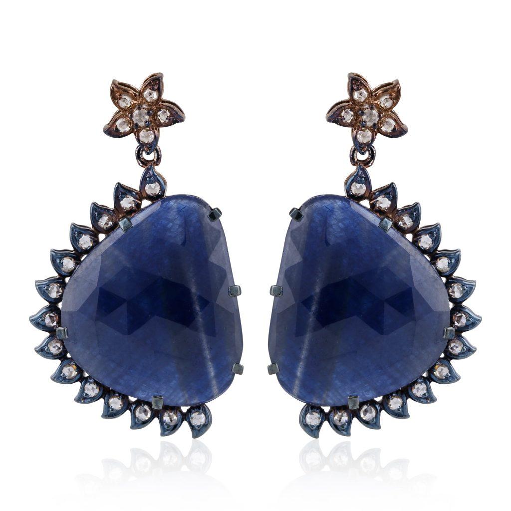 earrings by kohinoor