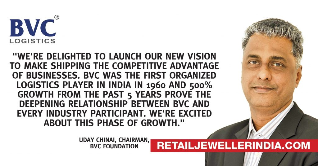 Quote- Uday Chinai, Chairman, BVC Foundation