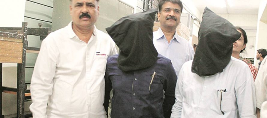 Goodwin Jewellers owners arrested outside Thane court