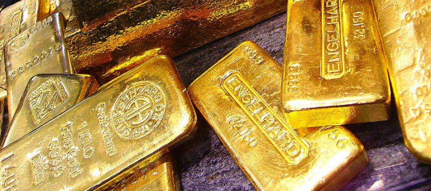 Gold prices rise due to safe investments