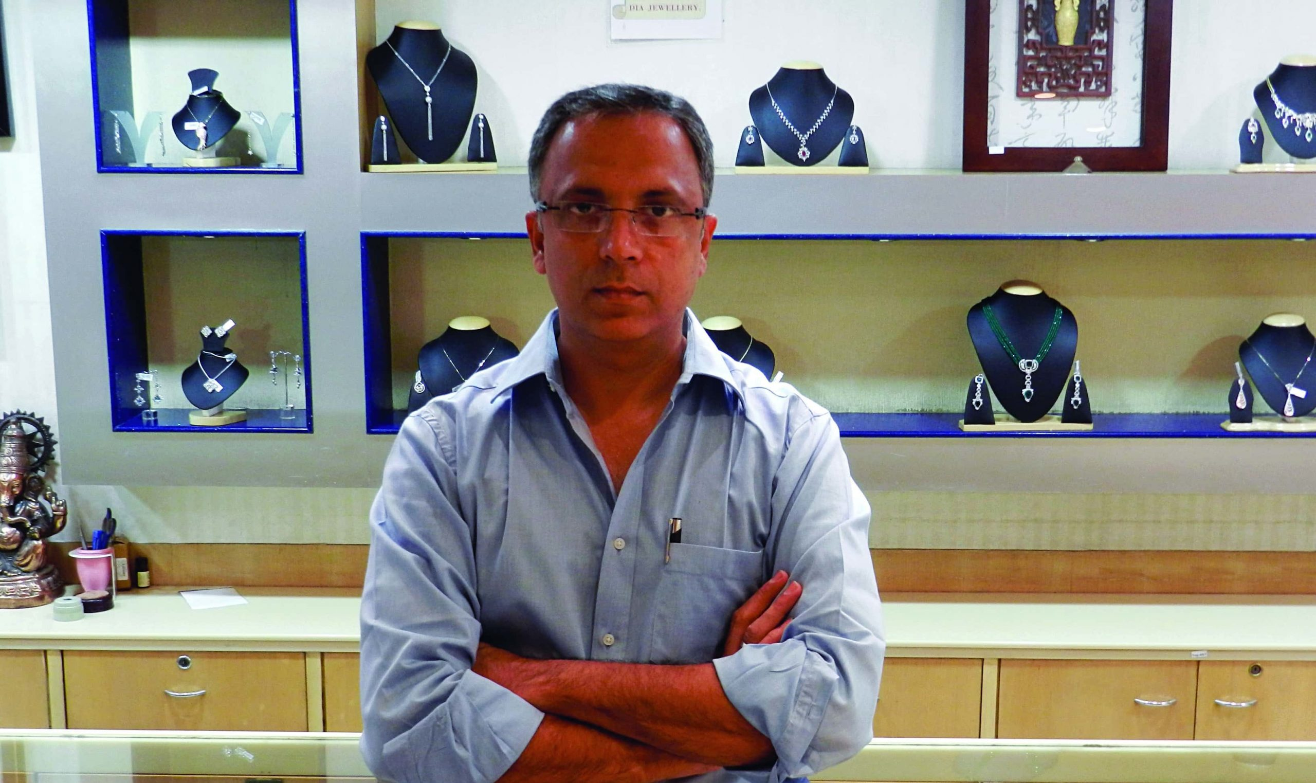 Hitesh Adesara, Director, Keshavji Chhaganlal Jewellers Pvt Ltd