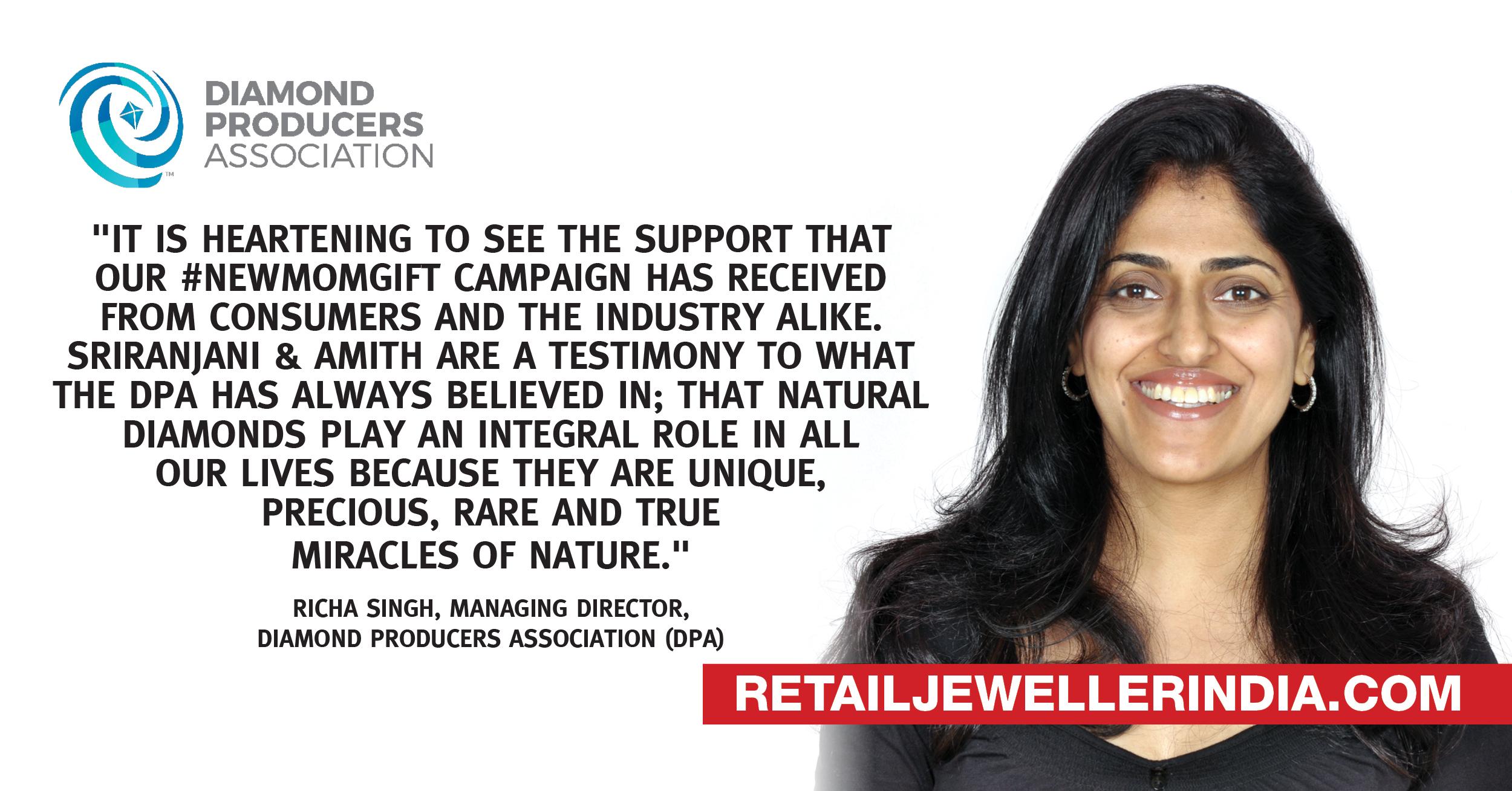 Richa Singh, Managing Director – India, Diamond Producers Association