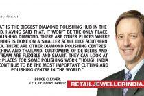 Surat may lose cutting edge in diamond trade