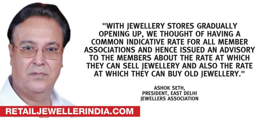 Gold up 1.7% in Mumbai as north India opens up its jewellery stores