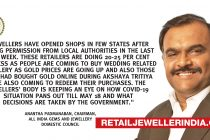 COVID-19: Jewellers start opening stores, sales down to 20-25%